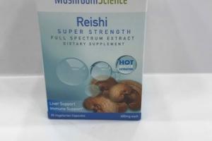 REISHI SUPER STRENGTH FULL SPECTRUM EXTRACT DIETARY SUPPLEMENT VEGETARIAN CAPSULES