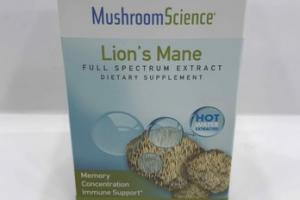 LION'S MANE FULL SPECTRUM EXTRACT DIETARY SUPPLEMENT VEGETARIAN CAPSULES