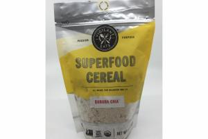 BANANA CHIA SUPERFOOD CEREAL