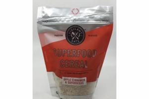 APPLE CINNAMON & SUPERSEEDS SUPERFOOD CEREAL