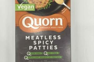 MEATLESS SPICY PATTIES