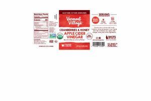 CRANBERRIES & HONEY APPLE CIDER VINEGAR