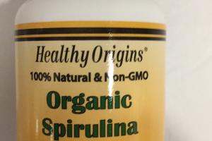 Organic Spirulina Dietary Supplement