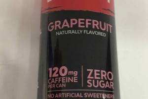 GRAPEFRUIT ZERO CALORIE ENERGY DRINK
