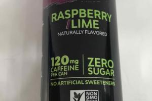 RASPBERRY LIME ZERO CALORIE ENERGY DRINK