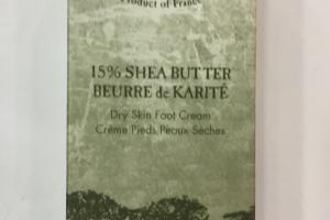 15% Shea Butter Dry Skin Foot Cream