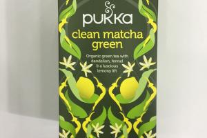 Clean Matcha Green Tea