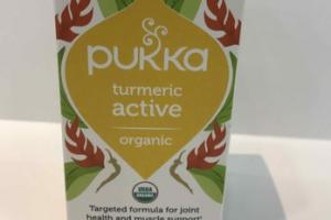 ORGANIC TURMERIC ACTIVE WITH BOSWELLIA HERBAL SUPPLEMENT CAPSULES