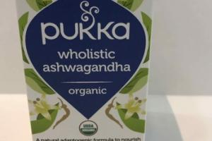 ORGANIC WHOLISTIC ASHWAGANDHA HERBAL SUPPLEMENT CAPSULES