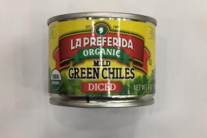 Organic Mild Green Chilies