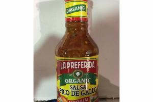 ORGANIC MEDIUM SALSA DE GALLO