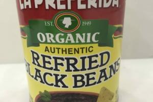 AUTHENTIC REFRIED BLACK BEANS