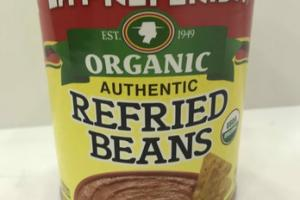 ORGANIC AUTHENTIC REFRIED BEANS