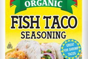 ORGANIC FISH TACO SEASONING