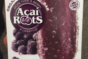 Organic Acai Fruit Bar