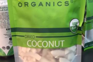 Organic Dried Coconut