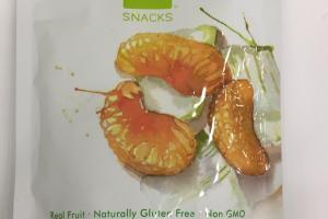 Real Dried Aloe Vera + Mandarin Fruit Snack