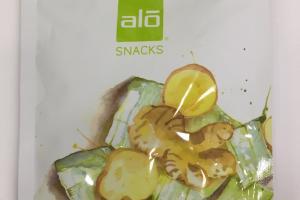 Real Dried Aloe Vera + Ginger Snacks