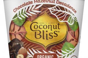 ORGANIC CHOCOLATE HAZELNUT DECADENCE 100% PLANT BASED DAIRY-FREE FROZEN DESSERT