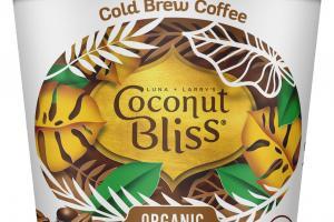 ORGANIC COLD BREW COFFEE 100% PLANT BASED DAIRY-FREE FROZEN DESSERT