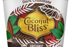 ORGANIC DARK CHOCOLATE 100% PLANT BASED DAIRY-FREE FROZEN DESSERT