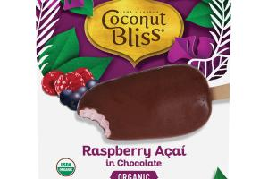 ORGANIC RASPBERRY ACAI IN CHOCOLATE
