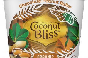 ORGANIC CHOCOLATE PEANUT BUTTER 100% PLANT BASED DAIRY-FREE FROZEN DESSERT