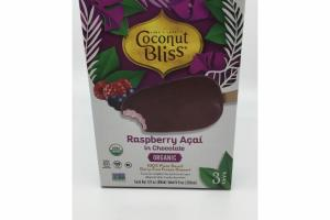 ORGANIC RASPBERRY IN CHOCOLATE