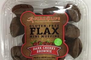 Gluten-free Flax Mini Muffins