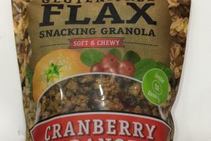 Gluten - Free Flax Snacking Granola