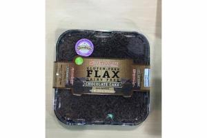 CHOCOLATE CAKE DAIRY FREE FLAX