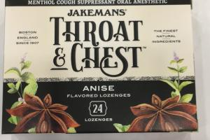 Anise Flavored Lozenges
