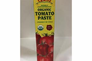 DOUBLE CONCENTRATED ORGANIC TOMATO PASTE