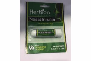 NASAL INHALER WITH SOOTHING VAPORS