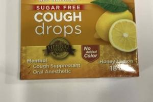 HONEY LEMON COUGH DROPS