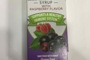ELDERBERRY, RASPBERRY WITH SYRUP DIETARY SUPPLEMENT