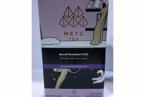 DECAFF BREAKFAST 512D DECAFFEINATED BLACK TEA