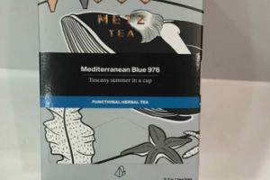 MEDITERRANEAN BLUE 976 FUNCTIONAL HERBAL PYRAMID TEA BAGS