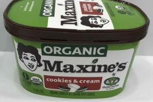 ORGANIC VANILLA ICE CREAM WITH COOKIES