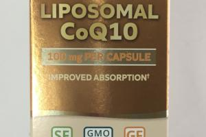 Liposomal Coq10 Capsules Dietary Supplement