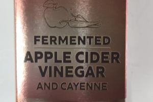 Apple Cider Vinegar And Cayenne Dietary Supplement