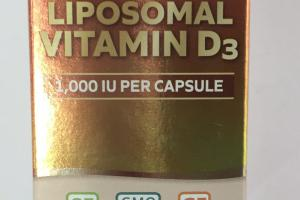 Liposomal Vitamin D3 Dietary Supplement