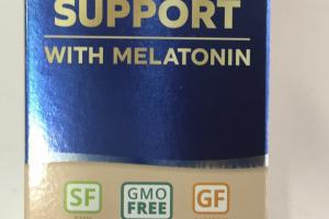Sleep Support With Melatonin Dietary Supplement