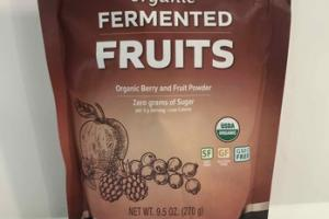 ORGANIC FERMENTED BERRY AND FRUIT POWDER