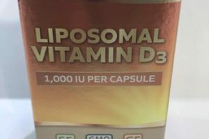 LIPOSOMAL VITAMIN D3 DIETARY SUPPLEMENT CAPSULES
