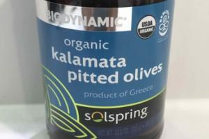 ORGANIC KALAMATA PITTED OLIVES