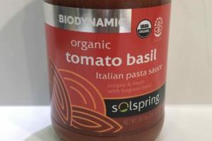 ORGANIC TOMATO BASIL ITALIAN PASTA SAUCE
