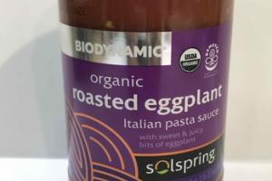 ORGANIC ROASTED EGGPLANT ITALIAN PASTA SAUCE