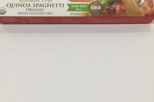 Organic Quinoa Spaghetti