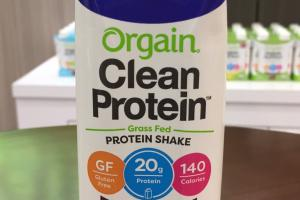 Grass Fed Protein Shake